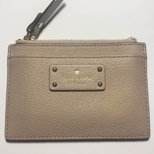 Kate spade record holder wallet